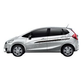Adesivo New Fit Honda Faixa Lateral Acessórios M2 Peças
