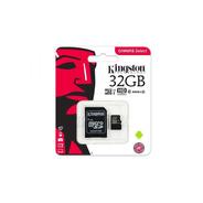 Memoria Micro Sd Kingston 32gb Sdhc 80r Uhs-i Clase 10