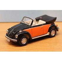 Vw Beetle Kafer Escarabajo Cabrio 1/43 Schuco