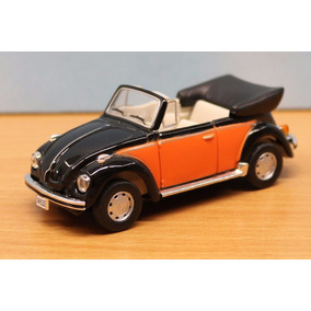 Vw Beetle Kafer Escarabajo Cabrio 1/43 Schuco