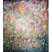Cuadro Cazart Lanzarse Abstracto Moderno Pintado A Mano