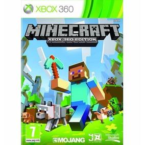 Jogo Novo Mídia Física Minecraft Edition Xbox 360 Português