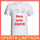 Camiseta Personalizada Estampada Festa E Evento Preço Baixo