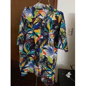 Camisa Multicolor 4xl Para Hombre