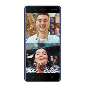 Nokia 8 Android Lte Pant. 5.3 Qhd 64+4ram 13+13+13mp Azul