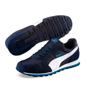 Tenis Puma St Runner Nl Color Azul Blanco Hombre Original