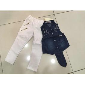 Conjuntos Para Niñas Jean Camisa Pantalón Shorts
