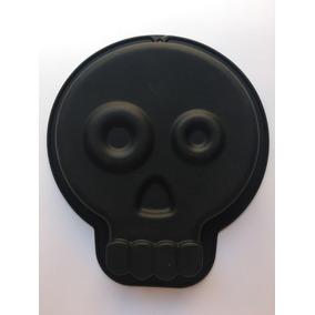Molde Silicon Forma Calavera Pastel 19 X 17.5 X 2.5 Cm