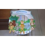 Enfeite Porta Maternidade Menino Safari Biscuit