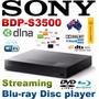 Blu-ray Sony Modelo Bpd-s3500 Con Wifi Nextflix Youtube