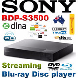 Blu-ray Sony Modelo Bpd-s3500 Con Wifi Nextflix Youtube