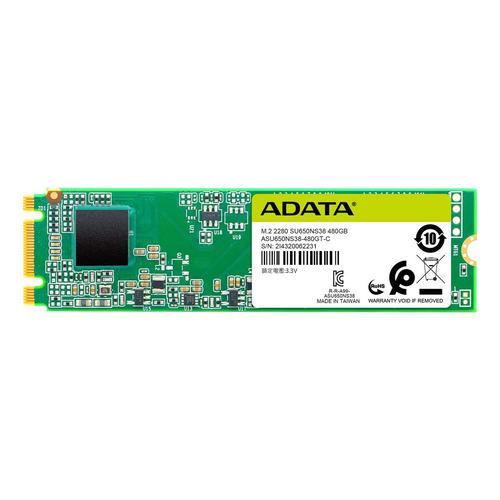 Disco sólido interno Adata Ultimate SU650 ASU650NS38-480GT-C 480GB