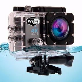 Action Camera Go Sport Pro Wi-fi Lcd 4k Prova D