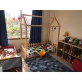 Cama Transicion Montessori Modelo Casita