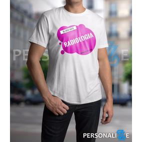 Camiseta Masculina Curso De Radiologia Rosa