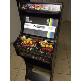 Arcade Bartop Fliperama Com 7 Mil Jogos + Ficheiro