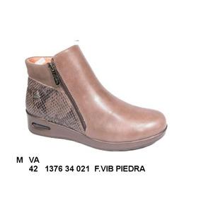 Bota Damas Doble Cierre Piedra - Cod 3993