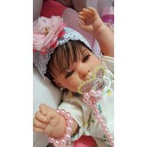 Bebê Reborn Manuela Linda Toda Em Vinil ! Promoção