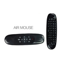 Teclado Mini Air Mouse Sem Fio Usb 2,4ghz Android Pc Tv Mac