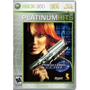 Perfect Dark Zero Xbox 360 Original Lacrado Mídia Física