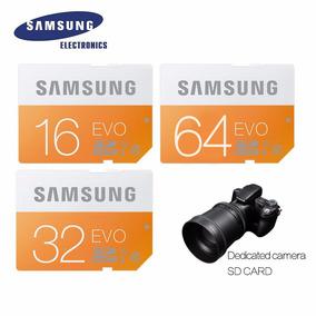 Cartao Memória Samsung 64gb Sdhc Sdxc P/ Câmera Profissional