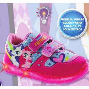 Tennis My Little Pony Con Luz Terra Niñas Envio Gratis Nmr
