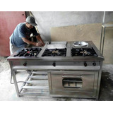 Fabricamos Cocinas Industriales Islas Chifero Con Horno