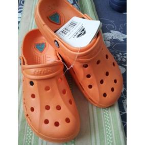 Zapato Suecos Tipo Crocs Playa Enfermeras Jardin Talla 34-39
