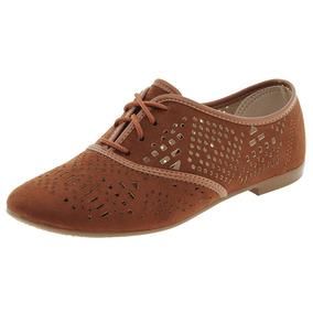 ab0cd5c35c Sapato Feminino Oxford Pinhão Beira Rio - 4150101