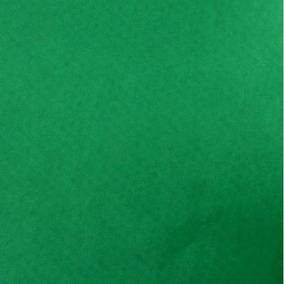 Papel De Seda Verde Bandeira - 10 Folhas