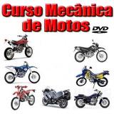 Curso De Mecânica De Motos Em Dvds-video Aulas