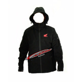 Campera Softshell Honda Exclusiva Impermeable Moto Sur