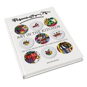 Livro Art In The Kitchen: Receitas Brasileiras Novo Lacrado