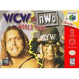 Juego De Nintendo 64,wcw Vs Nwo World Tour Sin Calcomanía.