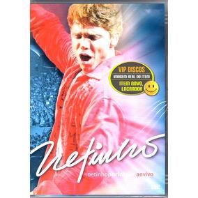 Dvd Netinho Por Inteiro Ao Vivo - Original Novo Lacrado Raro