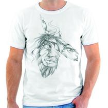 Camiseta Camisa Blusa Personalizada Pena