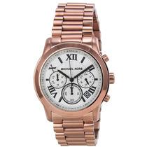 Reloj Michael Kors Cooper Oro Rosa Cronógrafo Mujer Mk5929