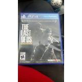 Ps4 Last Of Us Remasterizado Solo Una Vez Usado