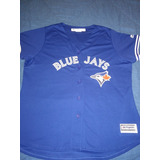 Jersey Dama Azulejos De Toronto Blue Jays Original Béisbol