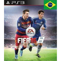 Futebol Fifa 16 Fifa 2016 - Jogo Ps3 - Dublado Português Psn
