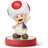 Figura Amiibo Toad Serie Super Mario Bros Nintendo Wii U