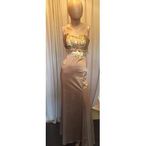 Vestido De Fiesta Largo Al Cuerpo - Elegantisimo