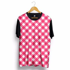 Camiseta Xadrez Swag Estampada Personalizada Camisa Blusa