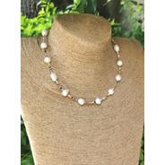 Collar Perla Con Chaquira (m: 06c3)