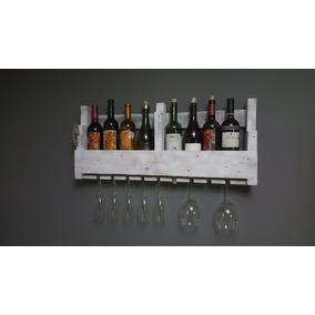 Porta Vinos Pallet Mini Cava Vintage