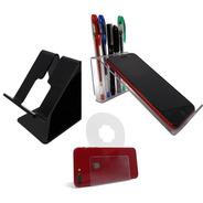 Kit 3 Suportes Celular Smartphone De Mesa Universal