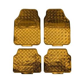 Tapete Dourado 4pçs P/ Fiat Strada Cabine Estendida/