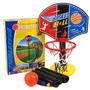 Mini Canasta Tablero Baloncesto Ajustable Aro 4 Etapas Nba
