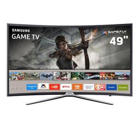 Smart Tv Games Led 49 Curva Samsung Aplicativos Tizen Wi-fi