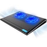 Laptop Cooling Pad, Tecknet Portátil Ultra-delgado Tranquilo